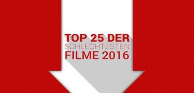 Top 25 der schlechtesten Filme 2016
