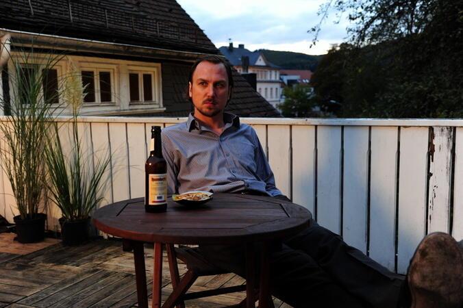 Grenzgang mit Lars Eidinger