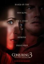Conjuring 3: Im Bann des Teufels Poster