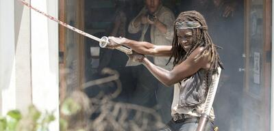 Danai Gurira als Michonne in The Walking Dead