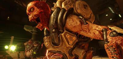 Auch das Doom-Reboot von 2016 spart nicht mit expliziter Gewaltdarstellung.