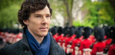 Sherlock mit Benedict Cumberbatch