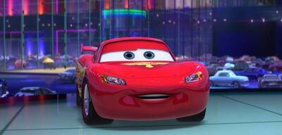 Lightning McQueen fährt in Cars 3