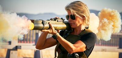 Linda Hamilton in Terminator 6: Dark Fate