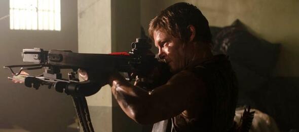 Daryl Dixon (Norman Reedus) ist auf alles vorbereitet