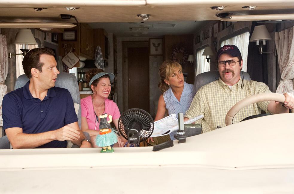 Wir sind die Millers mit Jennifer Aniston, Jason Sudeikis, Nick Offerman und Kathryn Hahn