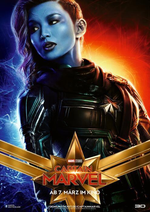 Captain Marvel mit Gemma Chan