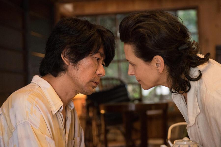 Die Blüte des Einklangs mit Juliette Binoche und Masatoshi Nagase
