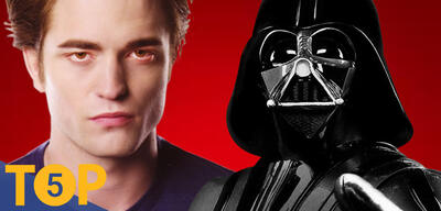 Edward und Darth Vader