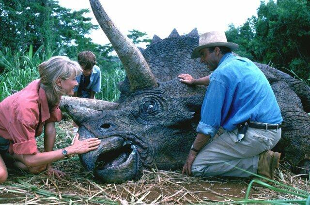 Jurassic Park mit Sam Neill und Laura Dern