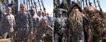 Bill Nighy als Davy Jones in Fluch der Karibik