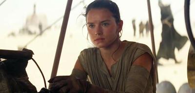 Beinah aufgegeben: Daisy Ridley in Star Wars: Episode VII - Das Erwachen der Macht