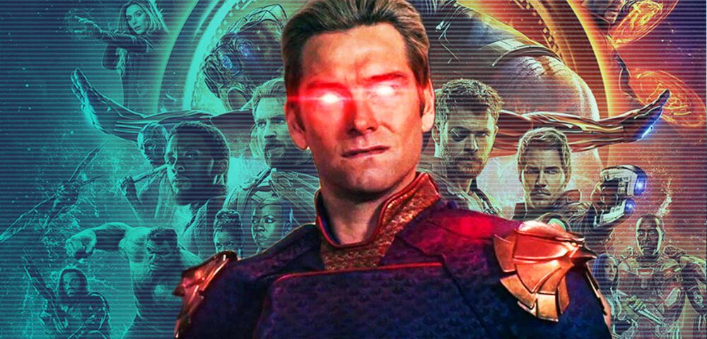 In The Boys Staffel 3 sehen wir den Fake-Avengers 4 (oder ist es doch Fake-Justice League?)
