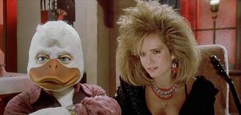 Quak! Szene aus Howard, ein tierischer Held