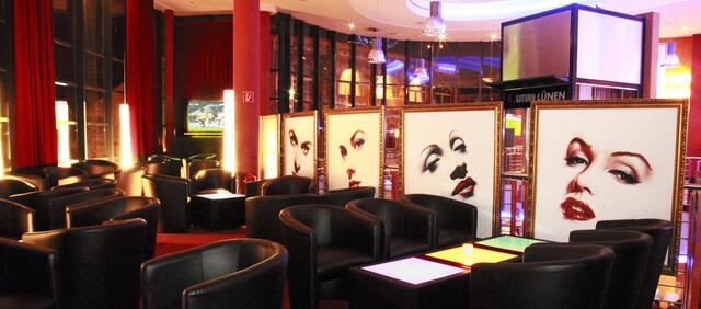 Der Lounge Bereich im Cineworld