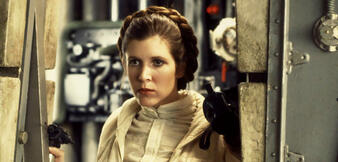 Prinzessin Leia in Das Imperium schlägt zurück