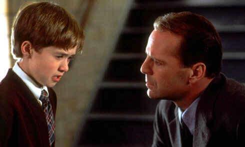 The Sixth Sense mit Bruce Willis und Haley Joel Osment