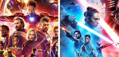 Avengers und Star Wars