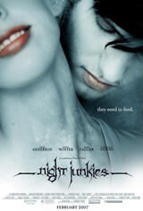 Night Junkies - Poster