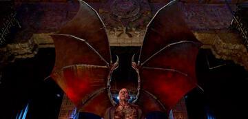 Lucifer in seiner vollen Teufelsform