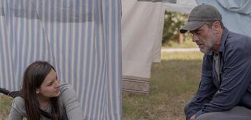 Lydia und Negan in The Walking Dead