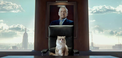 Kevin Spacey ist Mr. Fuzzypants