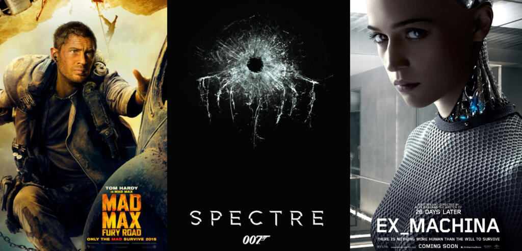 Mad Max: Fury Road, Spectre, Ex Machina
