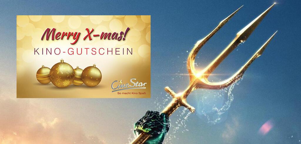 Aquaman mit CineStar-Kino-Gutschein