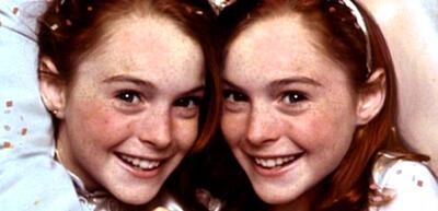 Lindsay Lohan mal zwei