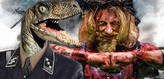 Nazi-Dinos jagen Jesus?!