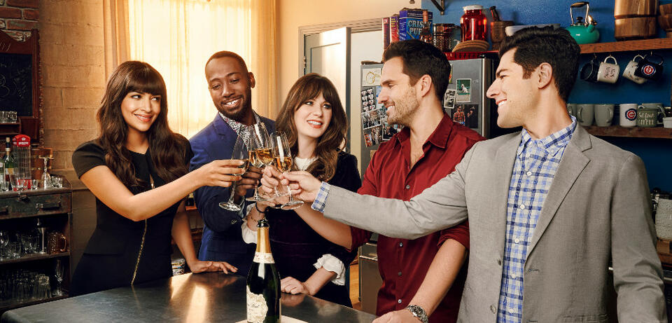 Der Cast von New Girl