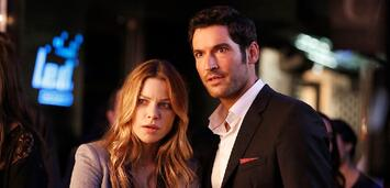 Bild zu:  Lauren German und Tom Ellis in Lucifer