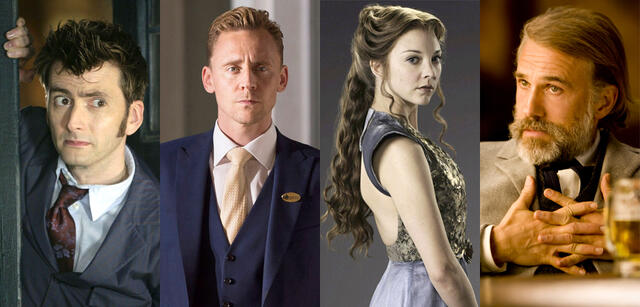 David Tennant/Tom Hiddleston/Natalie Dormer/Christoph Waltz