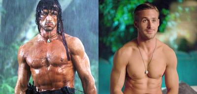 Rambo II/Crazy, Stupid, Love.