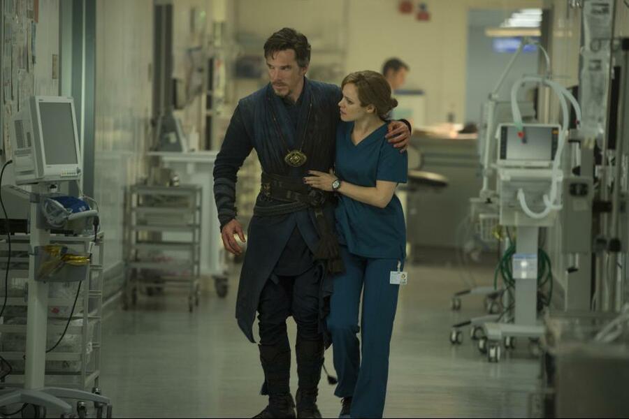 Doctor Strange mit Benedict Cumberbatch und Rachel McAdams