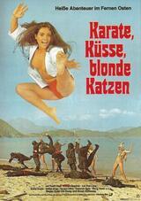 Karate, Küsse, blonde Katzen - Poster