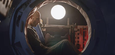 Mark Strong in Approaching the Unknown