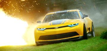 Camaro-Prototyp: Bumblebee probiert sich in der Reihe an diversen Baureihen des Musclecars