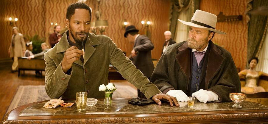 Django Unchained mit Jamie Foxx und Franco Nero
