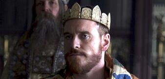 Michael Fassbender als Macbeth