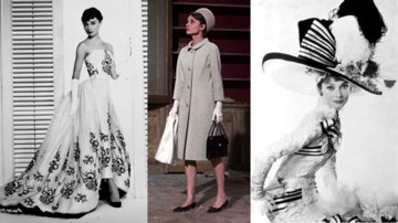 Audrey Hepburn in ihren Kleidern