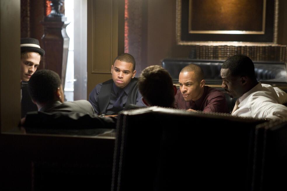 Takers mit Hayden Christensen, T.I. und Chris Brown