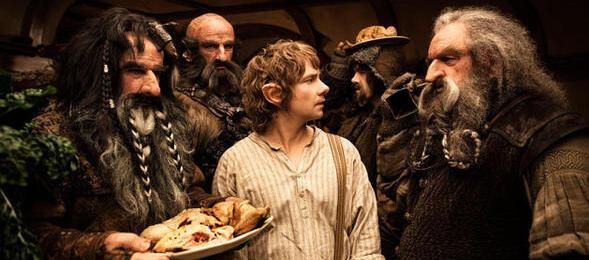 Auch Jack Reacher kann den Hobbit nicht vom Thron vertreiben