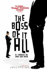 The Boss of It All - Poster