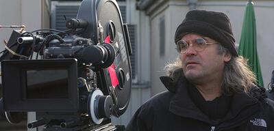 Paul Greengrass am Set von Die Bourne Verschwörung