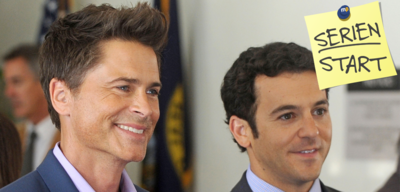 Rob Lowe und Fred Savage in The Grinder