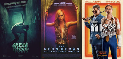 Green Room/The Neon Demon/The Nice Guys