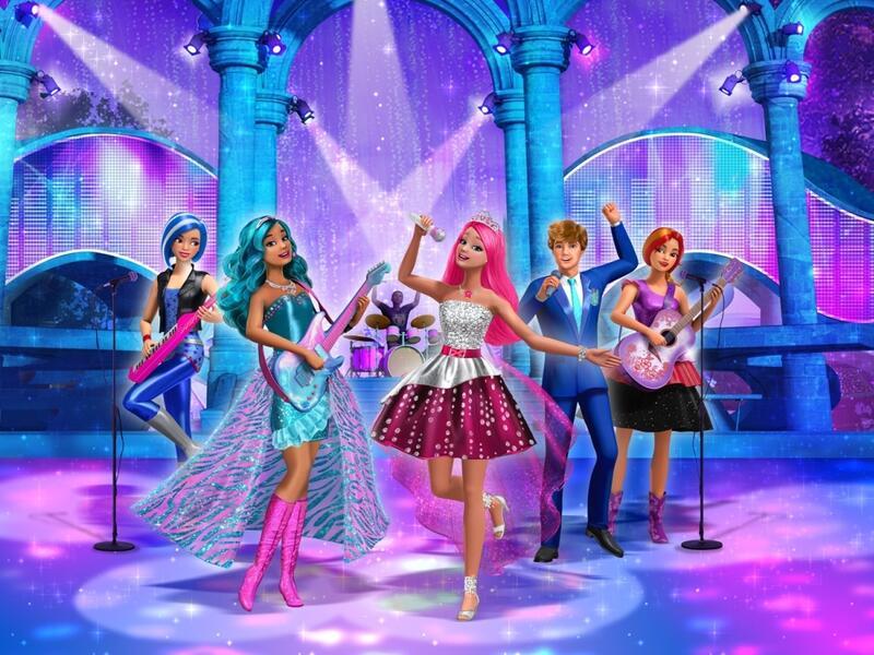 Barbie In Eine Prinzessin Im Rockstar Camp