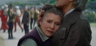 Carrie Fisher inStar Wars: Das Erwachen der Macht