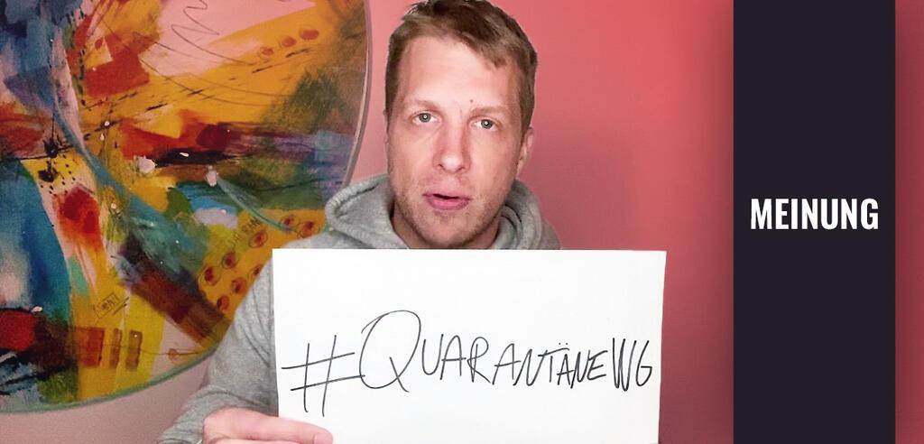 Oliver Pocher inDie Quarantäne-WG